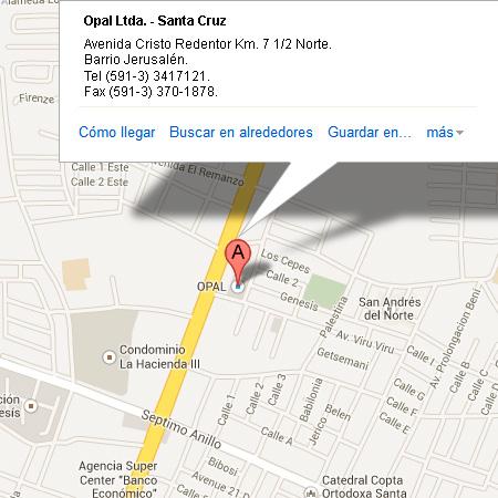 Opal Ltda. - Santa Cruz