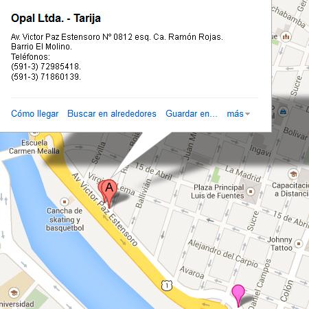 Opal Ltda. - Tarija