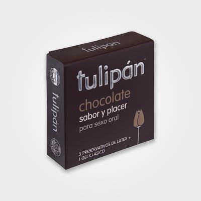 Tulipán - Chocolate