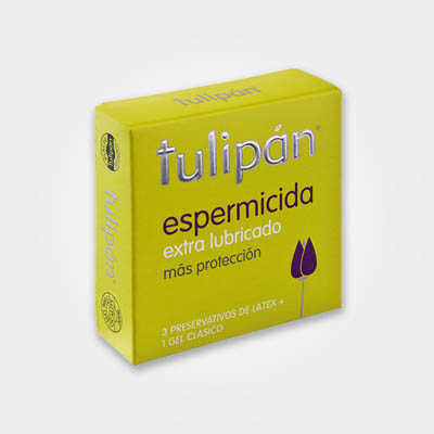 Tulipán - Espermicida